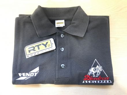 Fendt Grey Polo Shirt